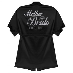 Custom Mother of the Bride Robe