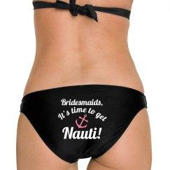 Nauti Nautical Bridesmaid