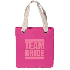 Team Bride Party Tote