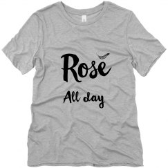 Rose All Day Feather Accent