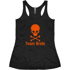 Halloween Wedding Team bride Tank