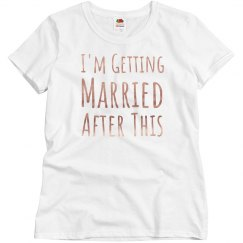 Getting Married Copper Metallic