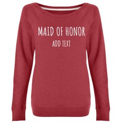 Custom Name Maid Of Honor