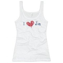 I Heart Jon Tank