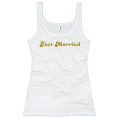 Just married white