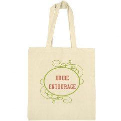 Bride Entourage Tote Bag