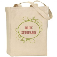 Bride Entourage Wedding Bag