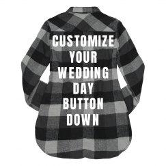 Custom Wedding Day Shirt