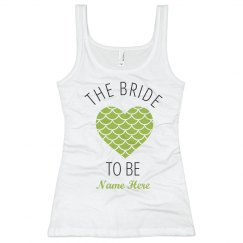 The Bride Mermaid Heart
