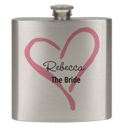 Bride Flasks Wedding