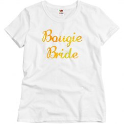 Bougie Bride Gold Glitter