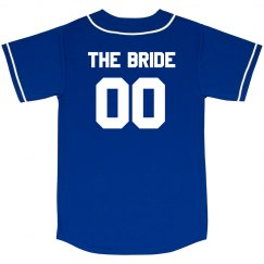 Custom Bride Baseball Jersey