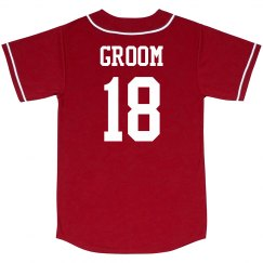 Custom Groom Jersey
