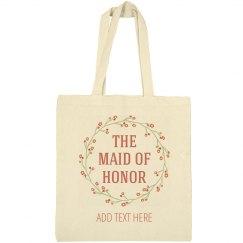 Custom Trendy Floral MOH Gift