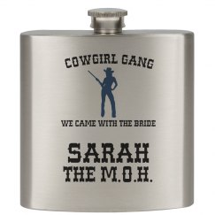 Cowgirl Gang Flask