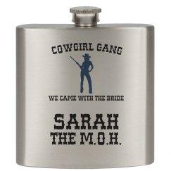 Cowgirl Gang Flask