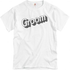 Groom Logo Graphic Tee