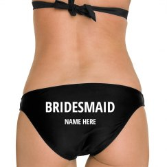 Custom Bridemaid Shell Bikini