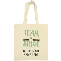 Team Bride Bridesmaid Design