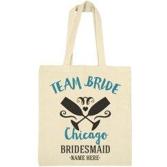 Team Bride Chicago Custom City Tote