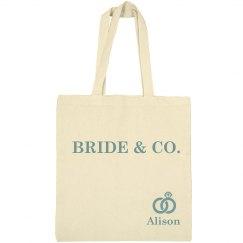 Bride & Co. Tote