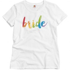 Colorful Bride T-shirt