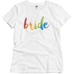 Colorful Bride T-shirt