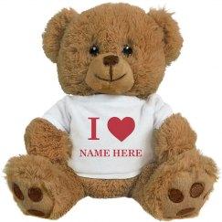 I Heart Valentine Gift