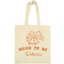 Christmas Bride Tote Bag