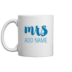 New Mrs Custom Gift