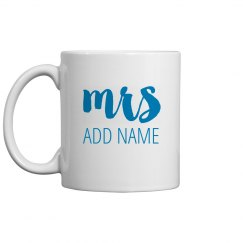 New Mrs Custom Gift