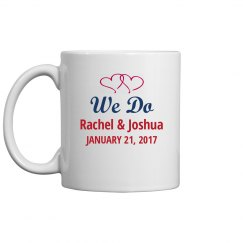 We Do Wedding Mug
