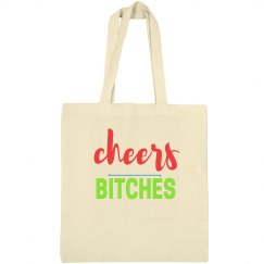 Cheers Bitches Bachelorette Tote