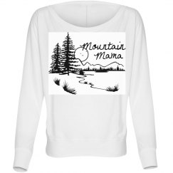 Mountain mama long sleeve