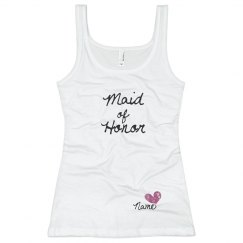 Custom Name Script Maid of Honor Heart Tank