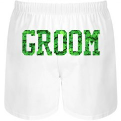 Irish Groom Shamrock Undies
