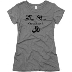 The One Wedding Tee