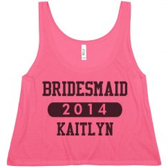 Team Bridesmaid Tank