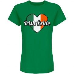 Lucky Irish Bride St. Patrick's