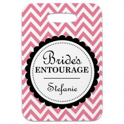 Bride's Entourage Tag