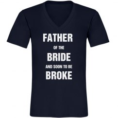 Soon to be Broke Father of Bride