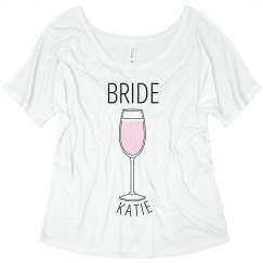 Pink Champagne Bride