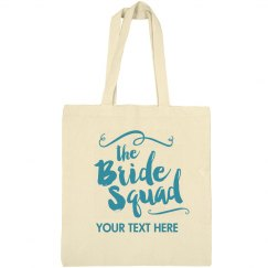 Trendy Script Bride Squad Bag