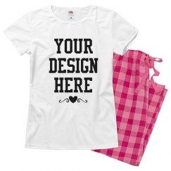 Create Custom Valentine's Pajamas