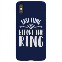 Cute Last Fling Design