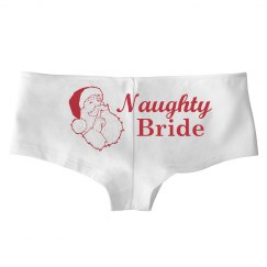 Naughty Bride Christmas Panty