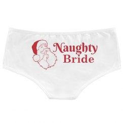 Naughty Bride Christmas Panty