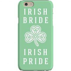Irish Bride iPhone Case Gift