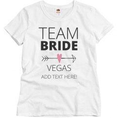 Team Bride Arrow
