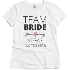 Team Bride Arrow